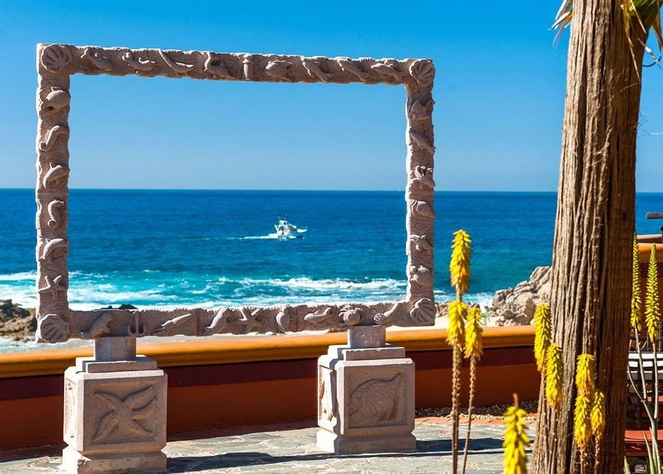 Beach Budget Resort Scenic views Tropical Waterfront sky water Sea Ocean Villa palace