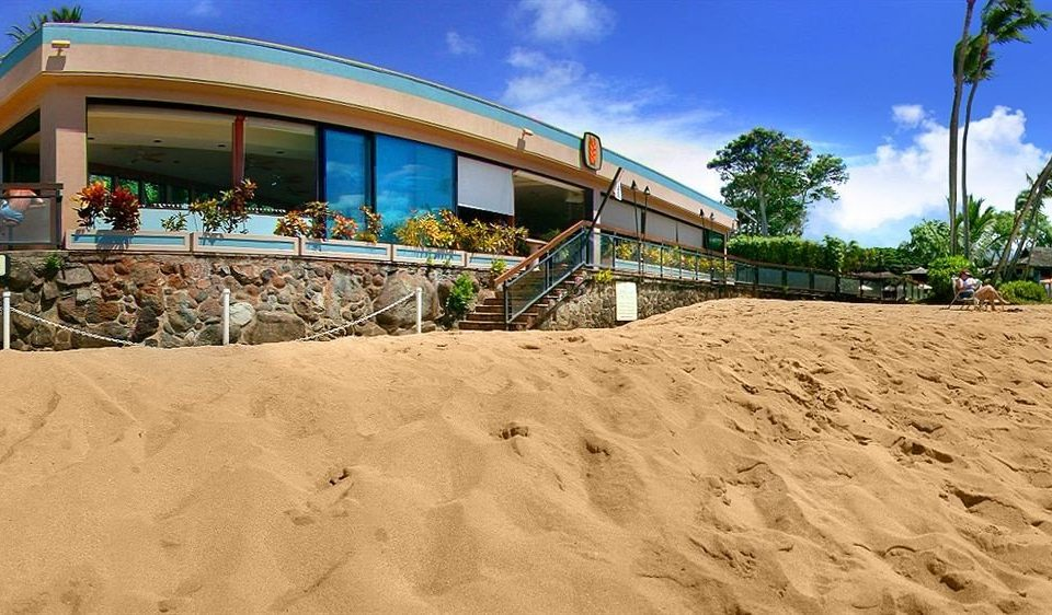 sky ground sand building soil Beach walkway material sandy