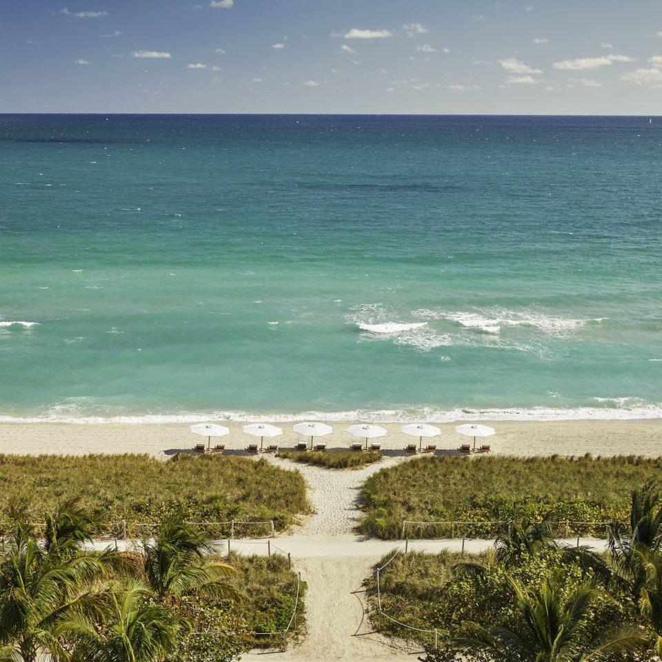 City Hotels Luxury Miami Miami Beach Sea shore Ocean Beach Coast sky coastal and oceanic landforms wave horizon caribbean tropics water wind wave cape