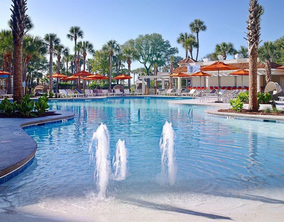 Classic Pool Resort sky tree water leisure swimming pool Water park Beach park Sea amusement park