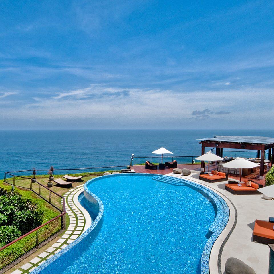 Honeymoon Luxury Pool Romance sky Sea leisure Ocean Coast Beach caribbean Resort shore Nature cape cove Island blue Deck