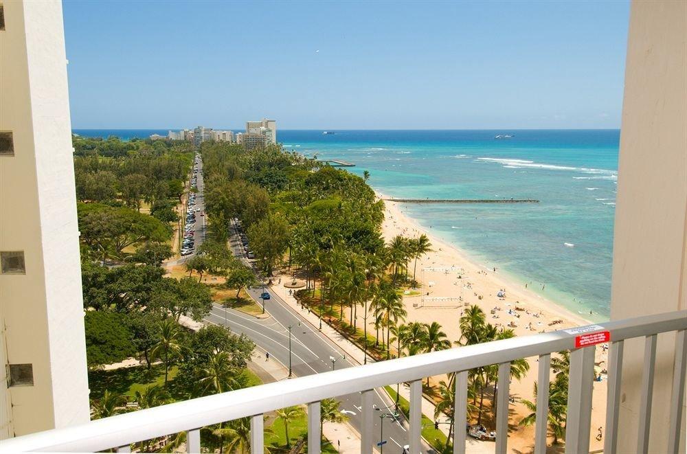 sky water tree property Coast Sea Nature Beach Ocean overlooking caribbean Resort shore cape lined Deck