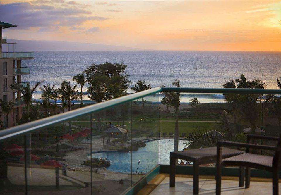 ad6d2788b26 sky water property Ocean Sea Beach Resort Coast overlooking shore Deck