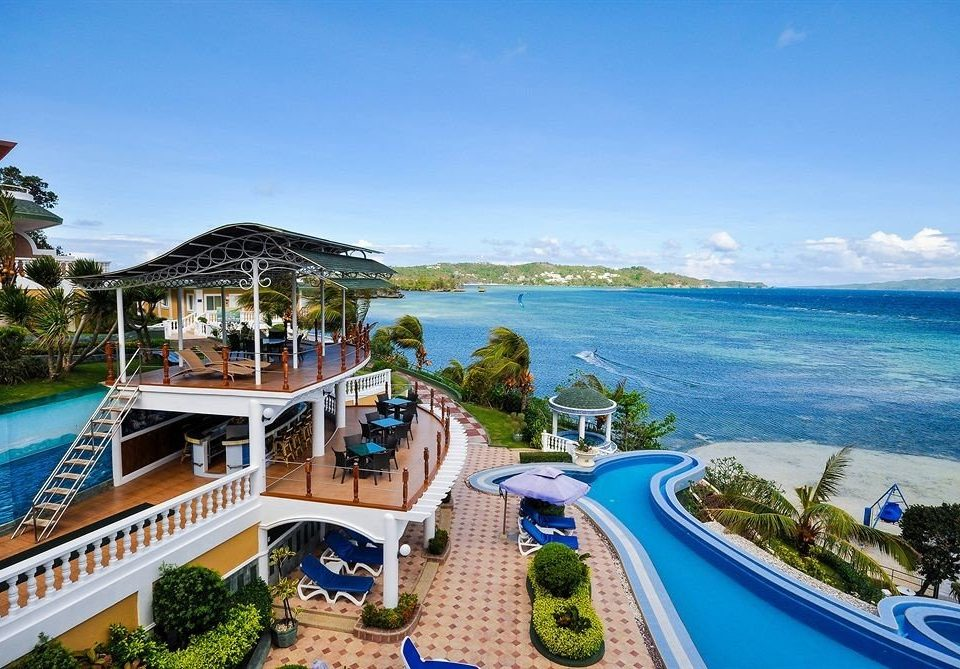 sky water leisure property Resort caribbean Sea resort town Coast Beach Deck shore