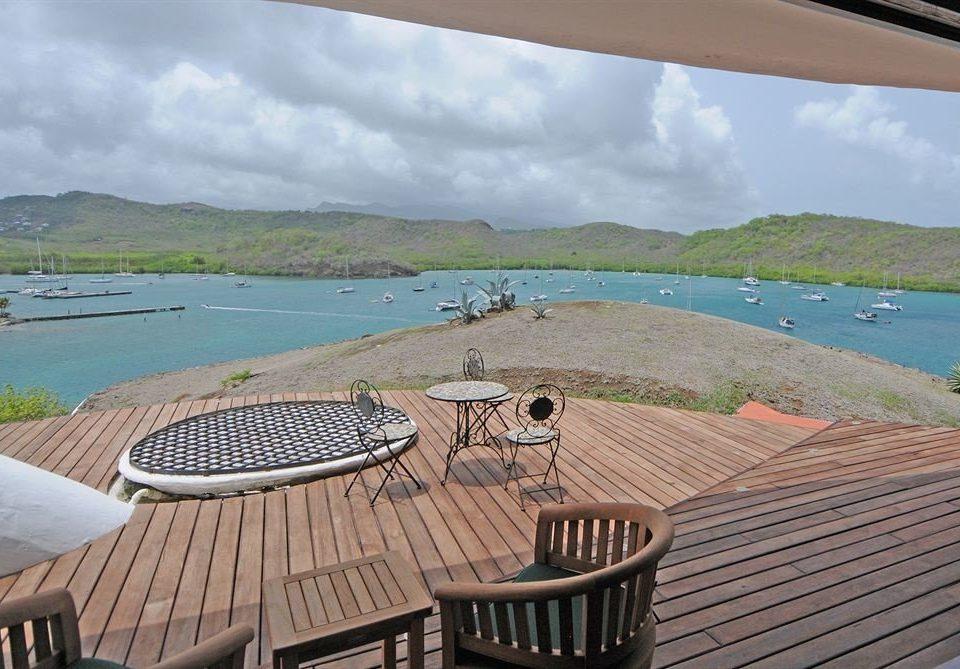 sky property swimming pool Sea Villa Coast wooden Beach Deck Resort cottage day