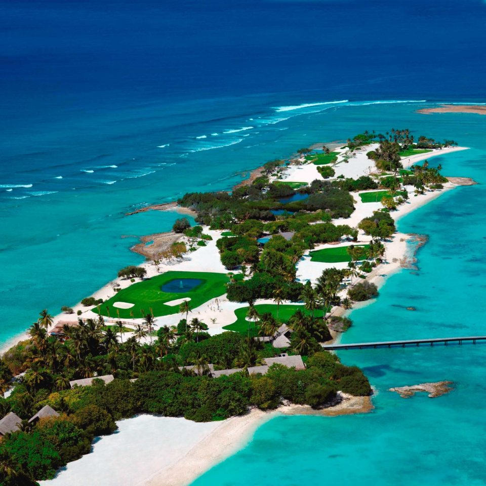 Beach Exterior Golf Grounds Ocean Scenic views water archipelago Sea Coast reef islet caribbean Nature shore Island cape tropics cove Lagoon terrain blue