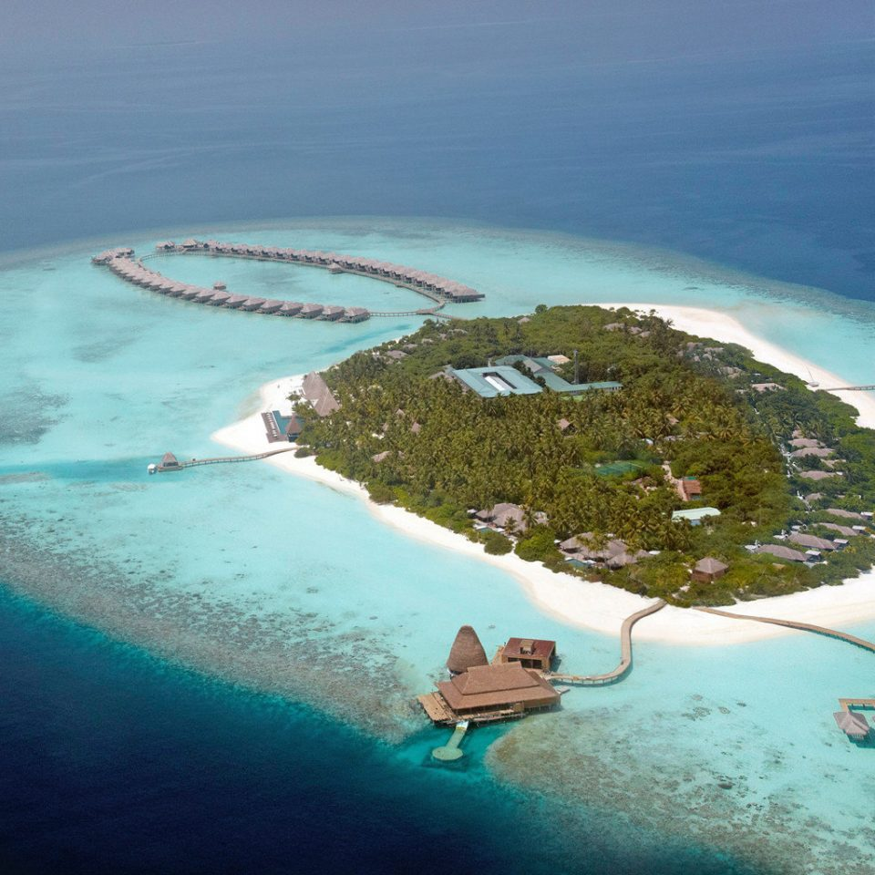 Beach Exterior Ocean water Nature reef Sea aerial photography archipelago atmosphere of earth Island Coast atoll islet Lagoon cape shore