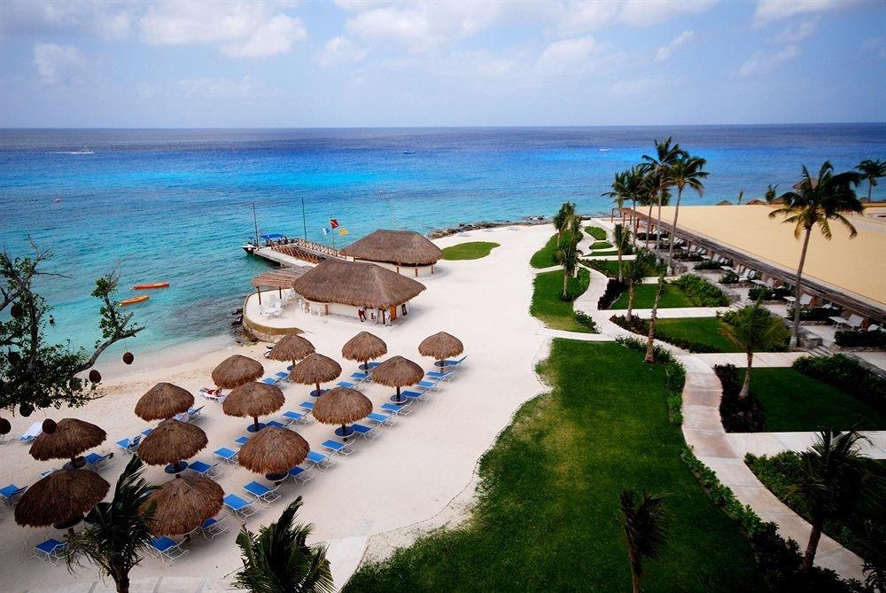Exterior Modern Ocean Resort Waterfront sky water leisure Beach Sea Nature shore caribbean Coast cape Lagoon tropics arecales