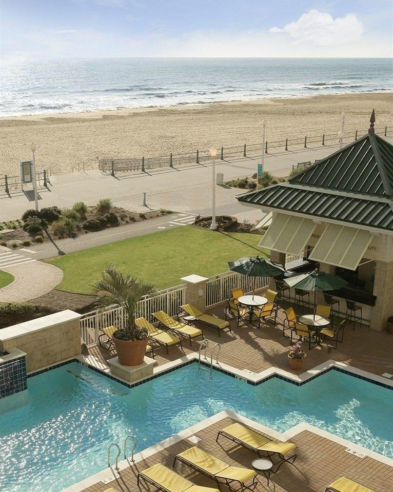 Exterior Pool Waterfront sky swimming pool property Resort Sea condominium home Beach Coast Villa palace mansion shore