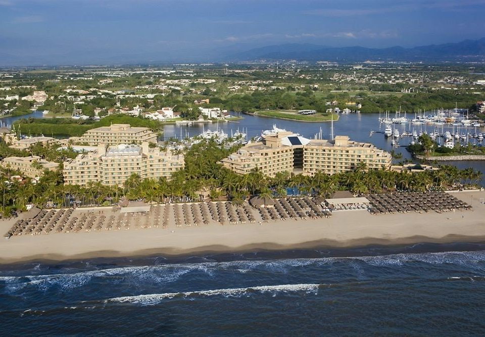 sky water Sea marina Beach Coast shore Ocean dock Resort aerial photography cape Harbor Nature vehicle line