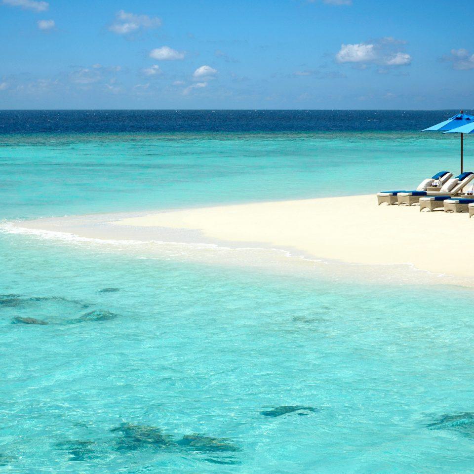 Beach Honeymoon Play Romance water sky Sea Ocean shore caribbean horizon wind wave islet Lagoon Coast cape wave Nature Island tropics cay atoll swimming sandy