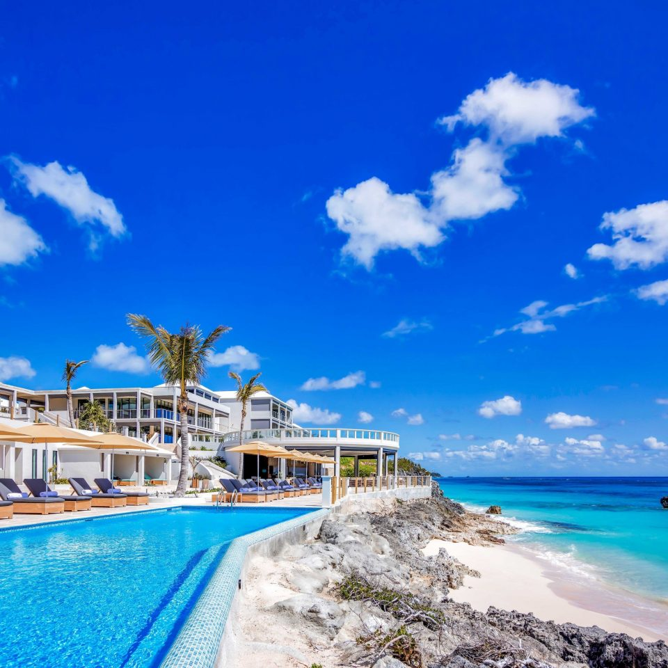Hotels Offbeat Trip Ideas sky water caribbean Sea Nature Beach Resort Coast Ocean blue cape Lagoon shore swimming