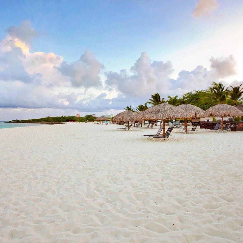 Beach Hotels Resort Romance sky water Nature shore Sea Ocean sand Coast caribbean sandy day