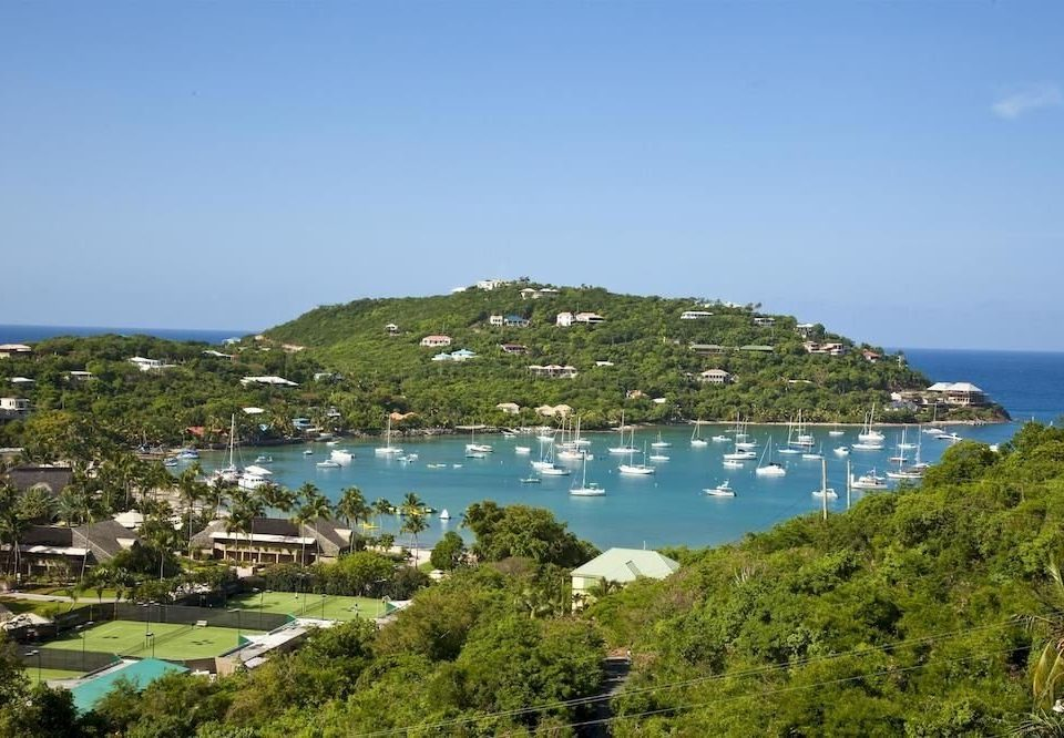 water Nature Coast Sea Resort cove Beach cape caribbean Lagoon archipelago Island marina promontory hillside lush shore