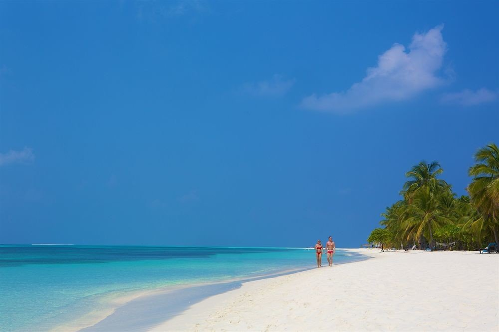 sky water Beach Nature Sea shore Ocean horizon caribbean Coast blue Island Lagoon sand cape tropics sandy