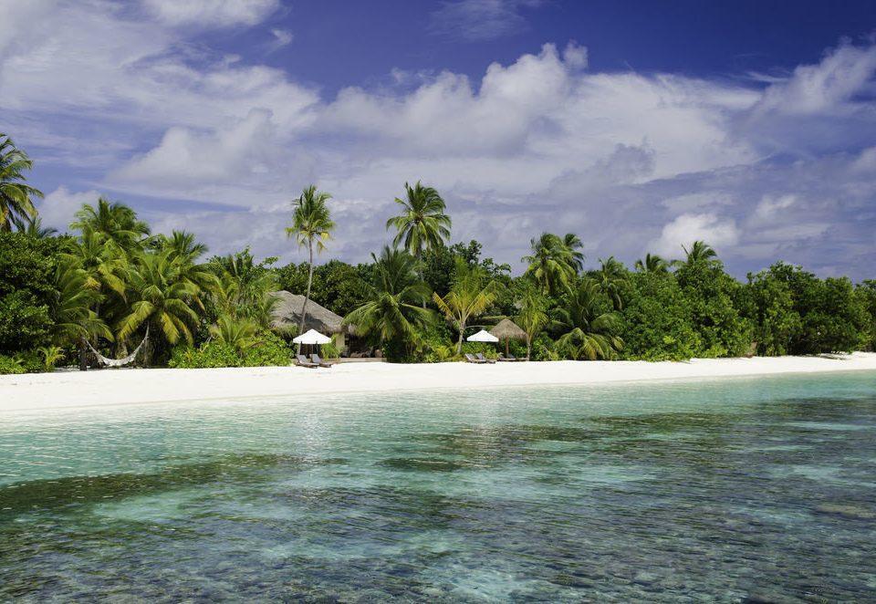 tree sky water Nature shore Sea cloud Ocean Beach Coast caribbean tropics Island Lagoon islet arecales cove reef