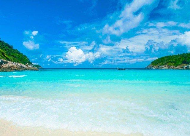 water sky Nature Beach Sea caribbean Ocean Coast shore Lagoon wind wave Island blue islet cape Pool swimming clouds day