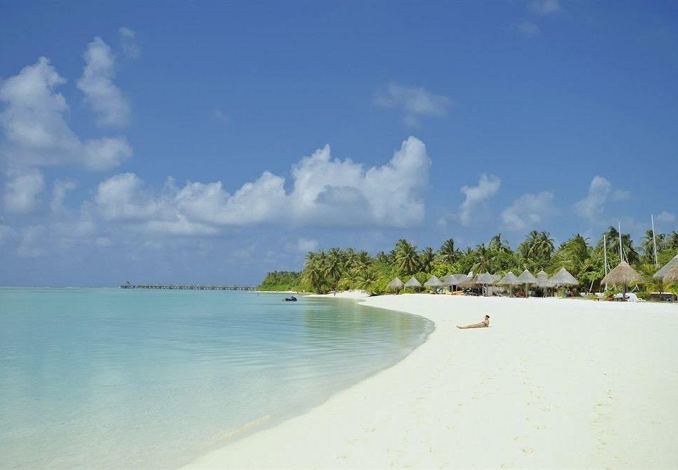 sky water Beach Nature shore Sea horizon Ocean cloud caribbean Island Lagoon Coast sand day