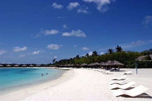 sky water Beach Nature shore Sea Coast caribbean Lagoon Island sand Resort day sandy swimming