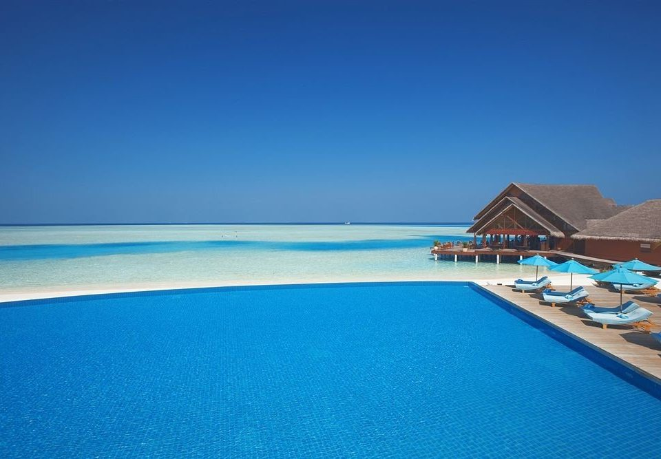 water sky swimming pool Sea horizon Nature Ocean Beach caribbean Resort Lagoon Coast cape Island blue atoll shore islet