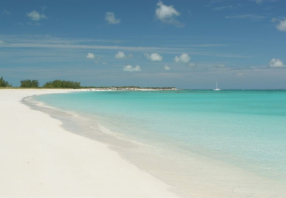 sky water Nature Beach shore Sea horizon Ocean caribbean Coast wind wave Lagoon sand wave Island cay cape sandy