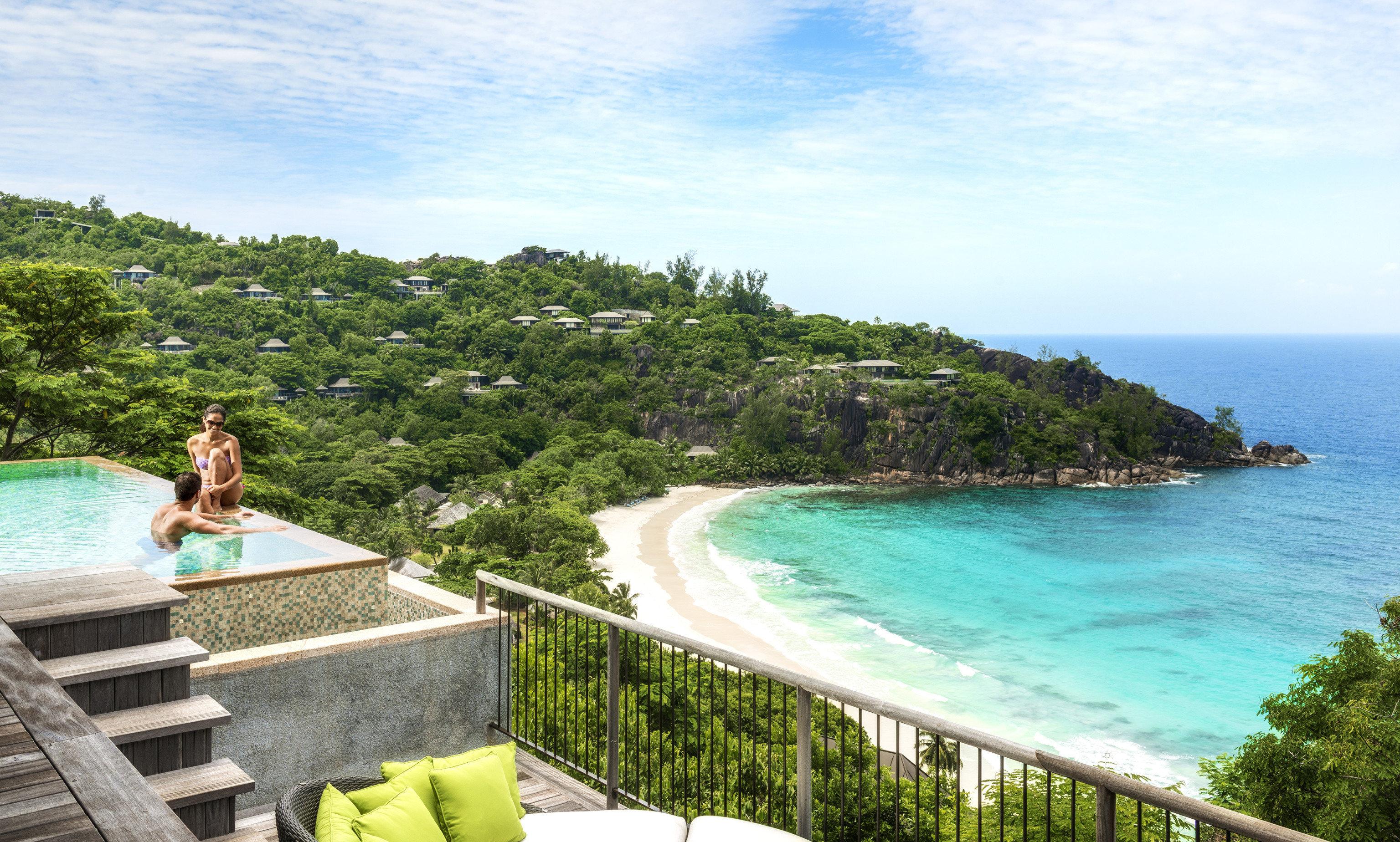 water sky Sea Coast Beach caribbean Ocean Nature Resort cove tropics Island cape Lagoon terrain overlooking shore