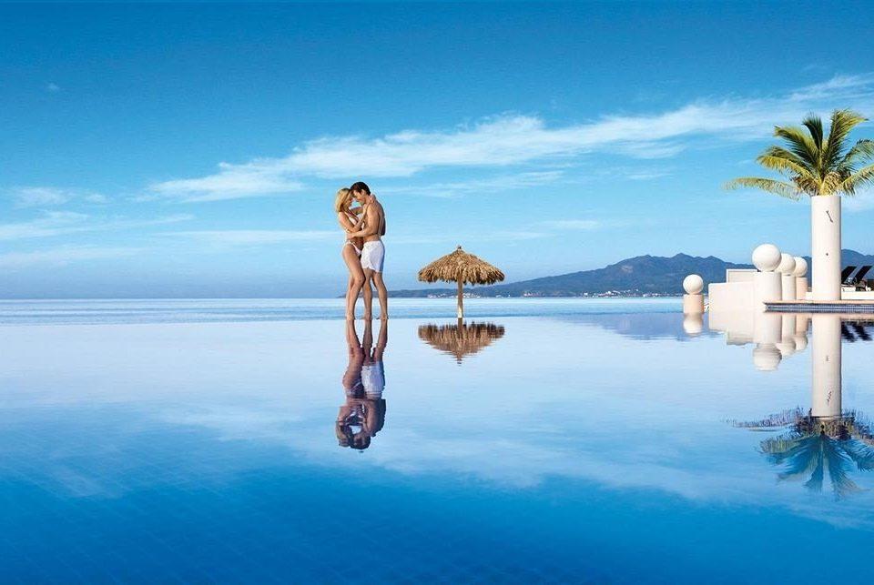 sky water Sea blue Ocean Beach horizon shore Coast Lake Lagoon Island cape arecales caribbean
