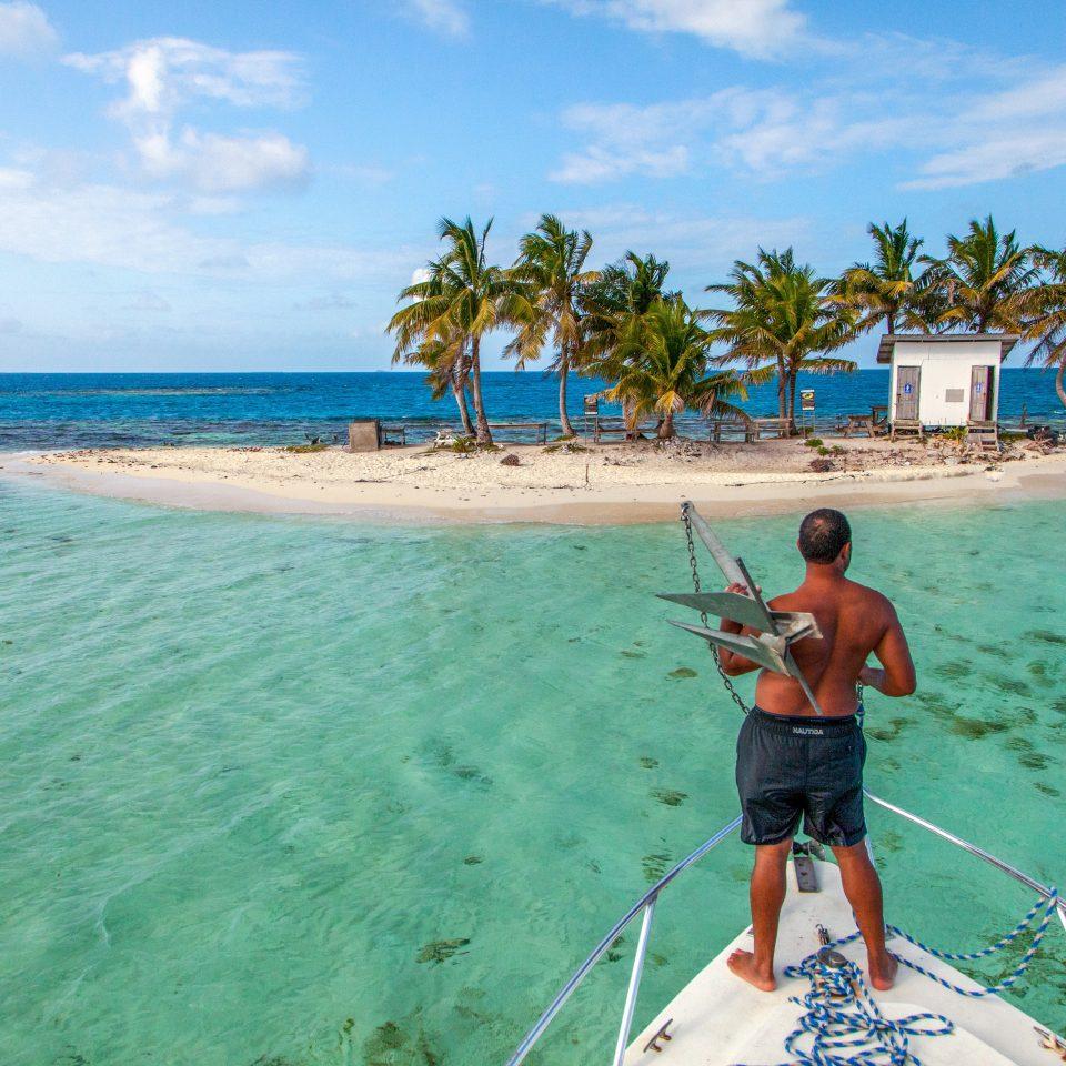 water sky Beach Sea caribbean board Ocean water sport cape Coast Island Lagoon tropics cay shore