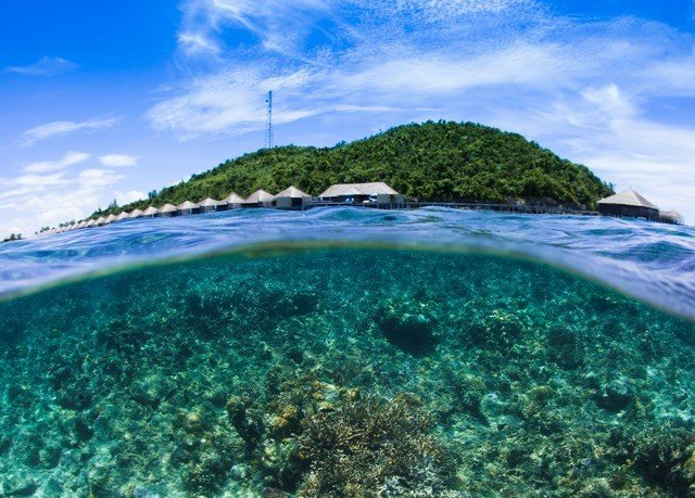 sky Sea Coast Ocean Nature caribbean Beach islet archipelago Island Lagoon reef cape tropics cove