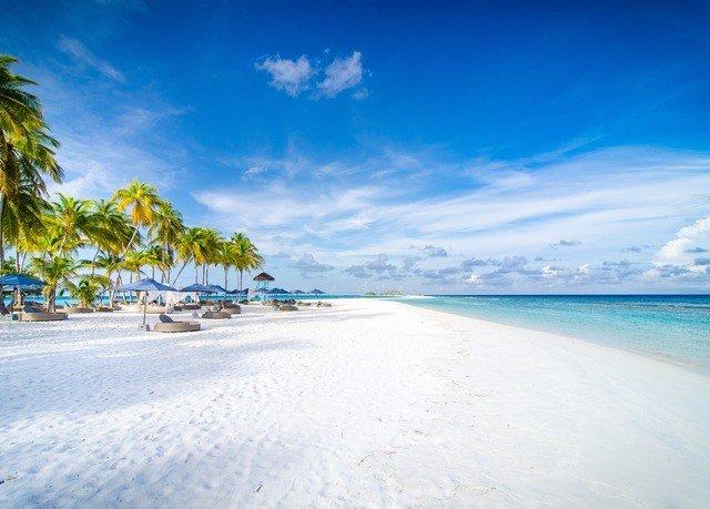 sky water Nature Beach shore Sea Ocean horizon caribbean Coast Island Lagoon Resort sand day sandy