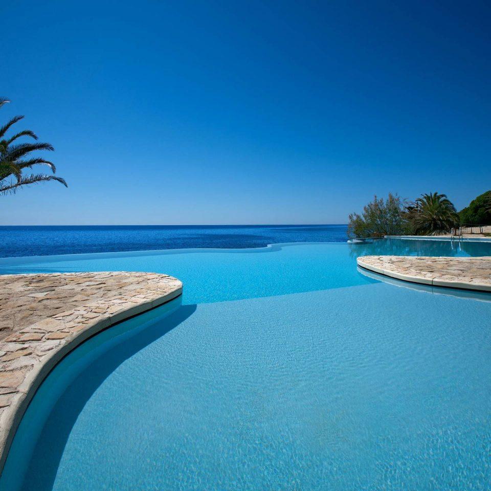 water sky Nature Beach swimming pool blue Sea Ocean caribbean Pool Resort shore Coast Lagoon Island tropics atoll cape reef swimming overlooking