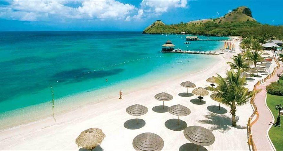 water Nature Beach caribbean Sea Coast Resort cape shore Lagoon swimming surrounded Island