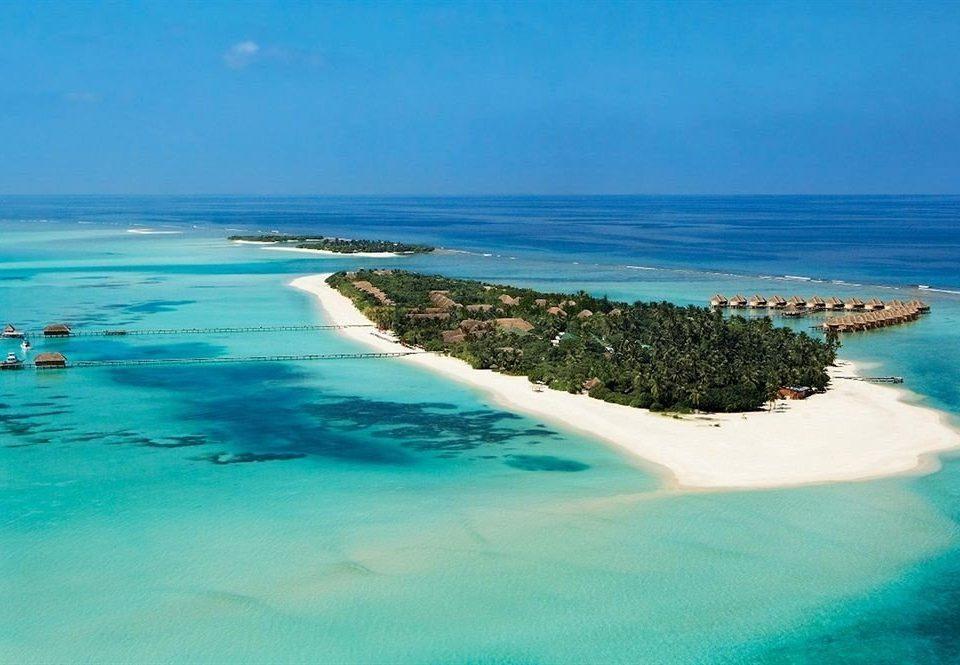 water Nature Ocean Sea shore Coast swimming Beach horizon Pool caribbean islet reef blue wind wave Lagoon Island cape archipelago wave atoll terrain cove cay tropics Resort