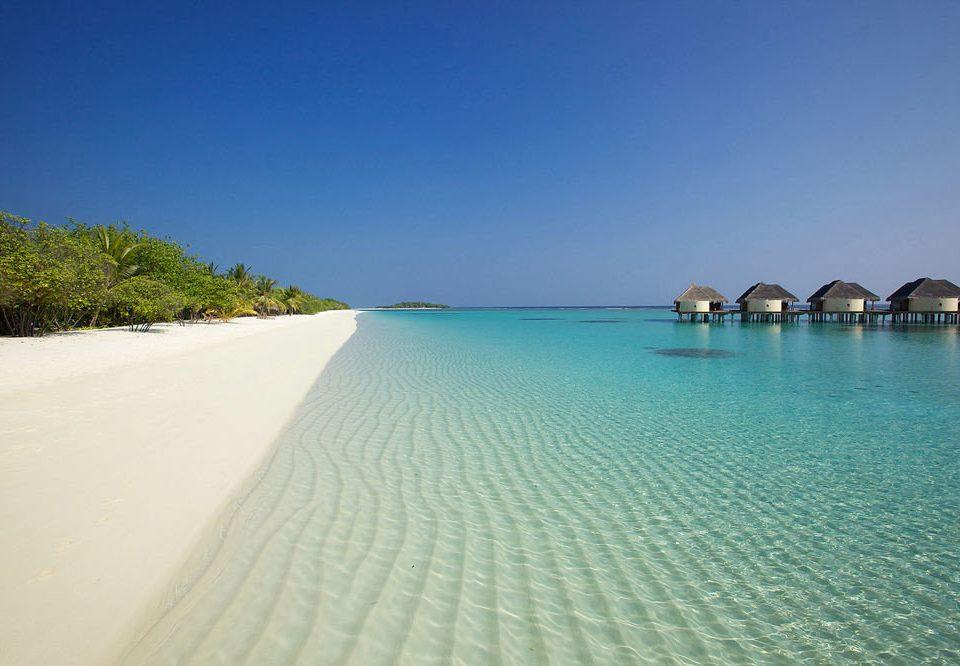 water sky Nature Beach Sea horizon Ocean shore Coast sand Lagoon Island cape caribbean