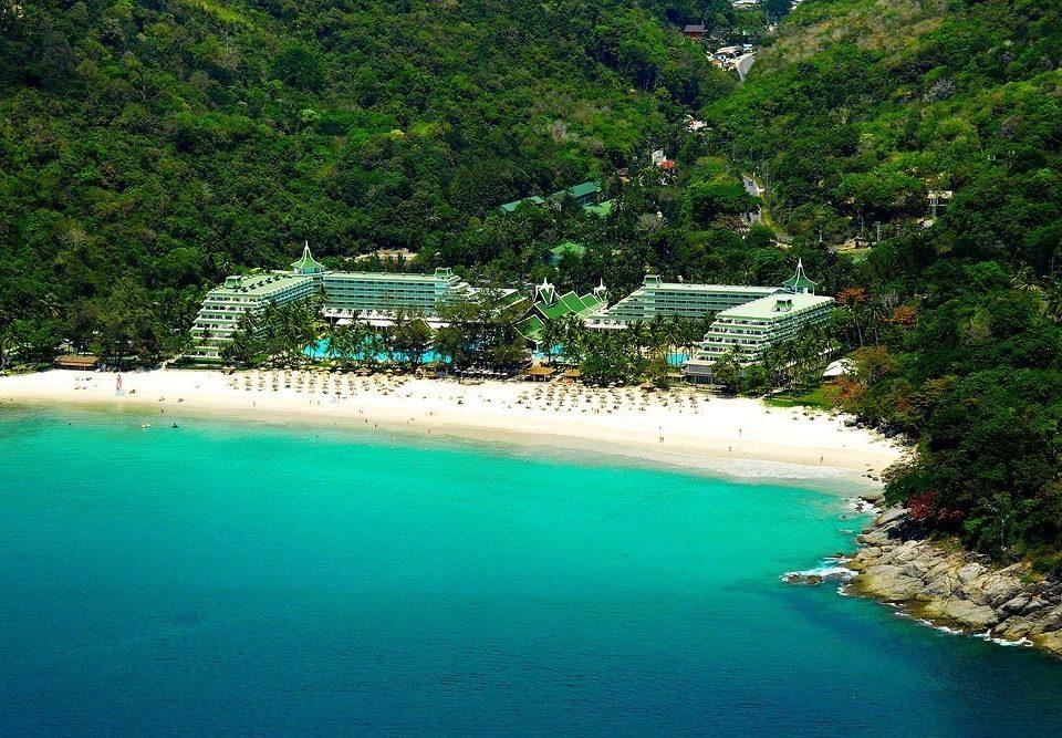 water tree Nature swimming pool mountain Sea reef Beach Lagoon tropics Resort caribbean Coast Island shore