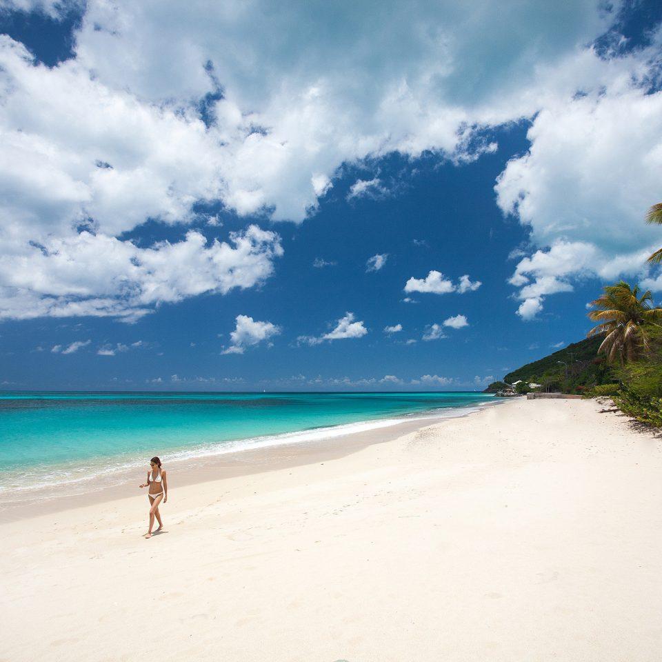 sky water Beach Nature Sea shore Ocean cloud caribbean Coast horizon sand tropics wind wave Island wave cape clouds day sandy
