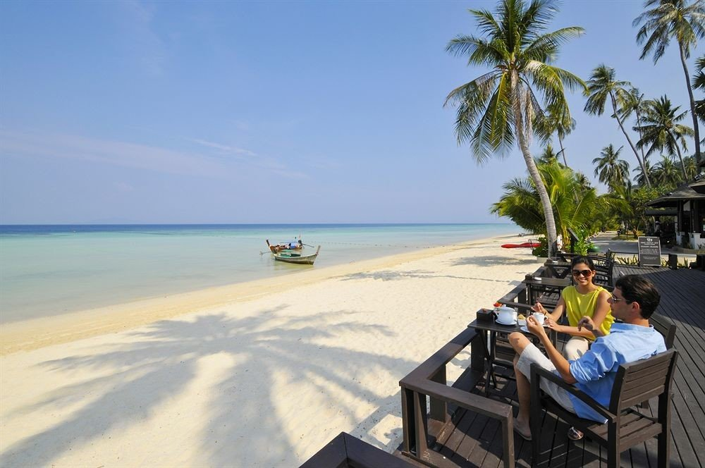 sky tree Beach leisure shore Sea Nature Coast Resort caribbean Ocean palm cape Island plant sandy
