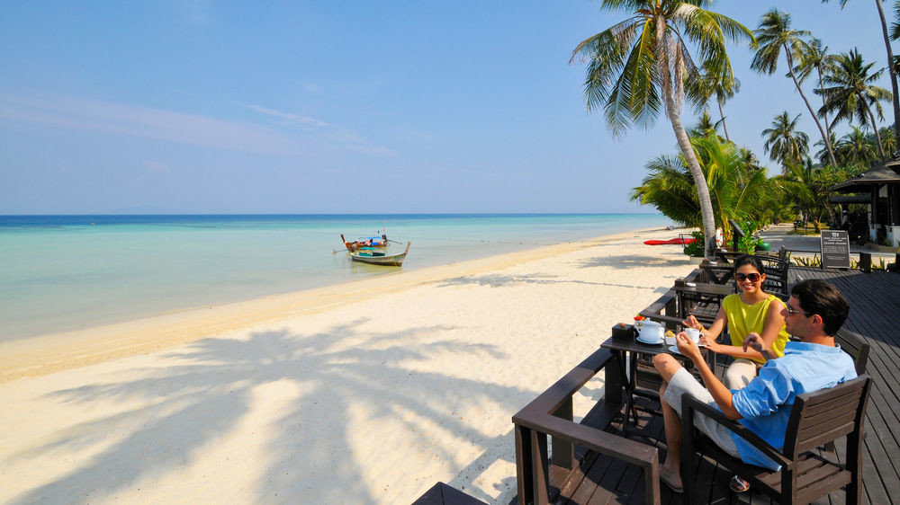 sky water Beach leisure Nature shore Sea Ocean Coast caribbean Resort sand cape Island palm sandy