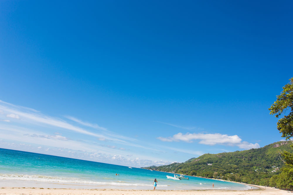sky water Beach blue Sea Nature shore horizon Ocean Coast caribbean cape Island sandy day