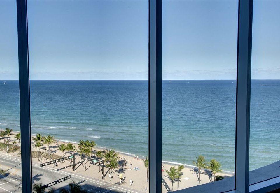 water sky Ocean overlooking Sea blue Coast Beach horizon shore facing caribbean condominium nice Resort Island
