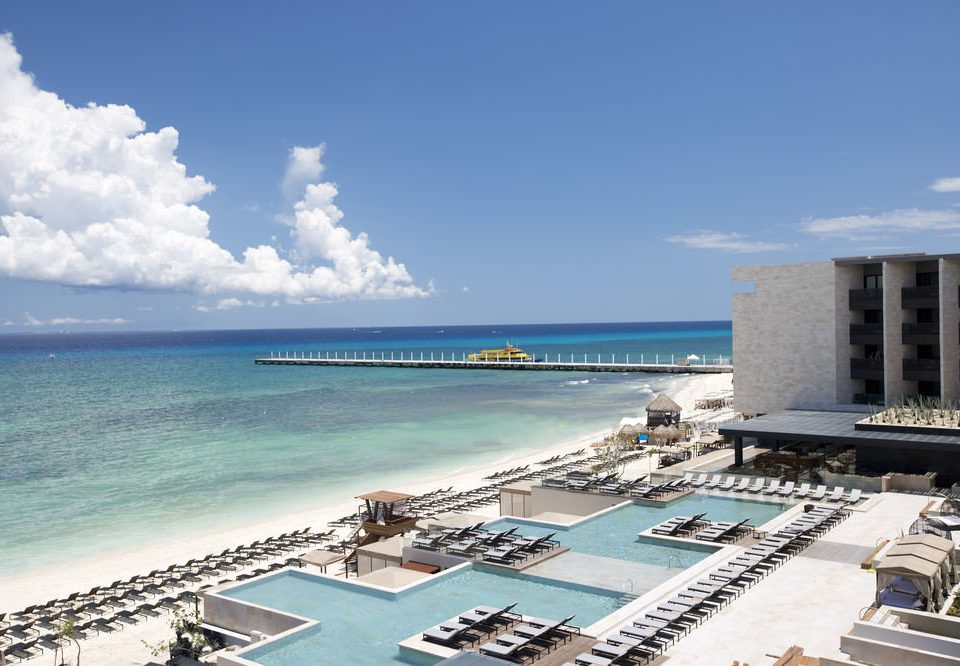 sky Beach Sea marina Ocean Coast dock Resort caribbean shore day Island