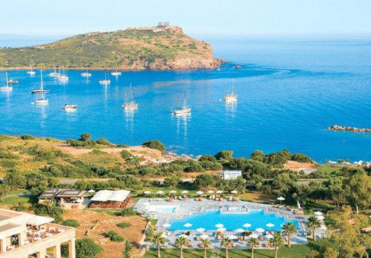 water sky mountain Sea Coast Nature shore Beach Ocean cove cape Resort promontory Lagoon islet blue