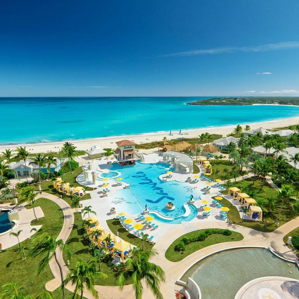 sky water Nature Ocean leisure Resort caribbean Beach lawn Sea shore Coast cape Water park swimming pool Lagoon reef marina lined
