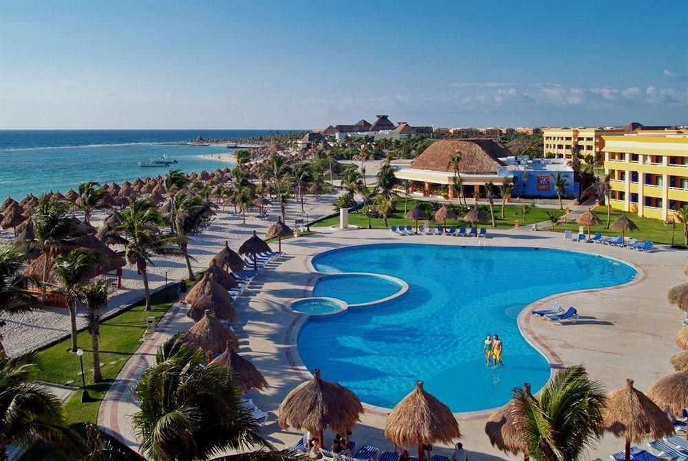sky water Nature swimming pool Resort property leisure Beach Sea resort town shore Coast Lagoon lined