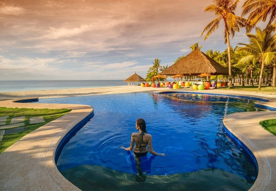 water leisure swimming pool Sea Resort Beach Ocean caribbean Coast Lagoon shore