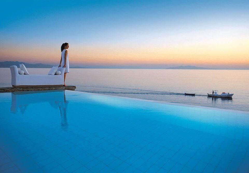 water sky Beach Sea horizon Ocean shore Coast Lagoon dusk blue sandy