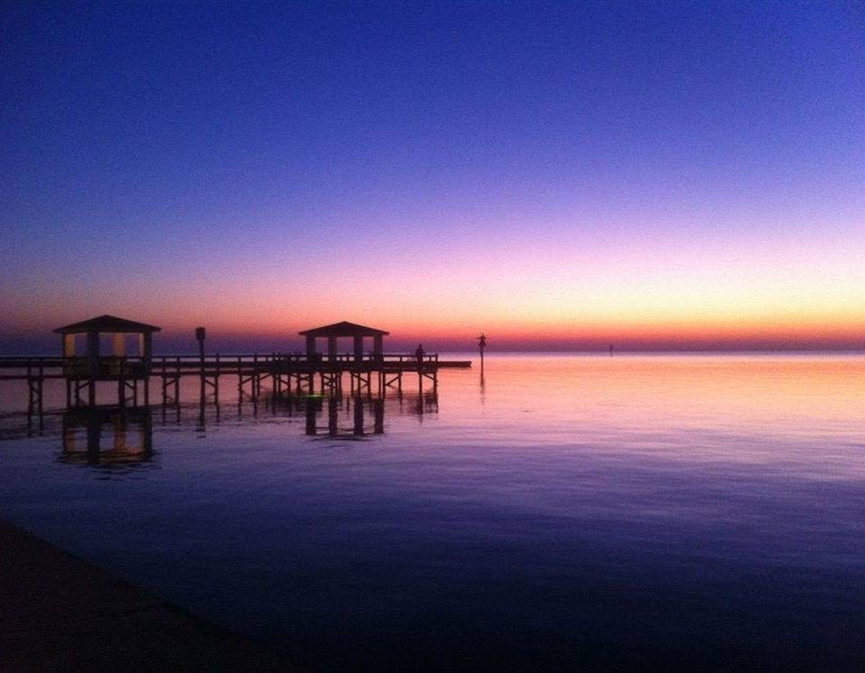 Lake water sky scene pier horizon Sea sunrise Beach Ocean dawn dusk Sunset evening afterglow morning shore Coast