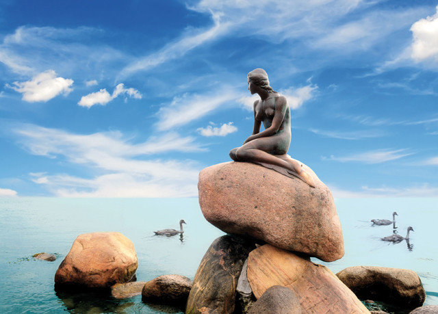sky rock Sea statue Ocean Nature Coast monument Beach travel sand