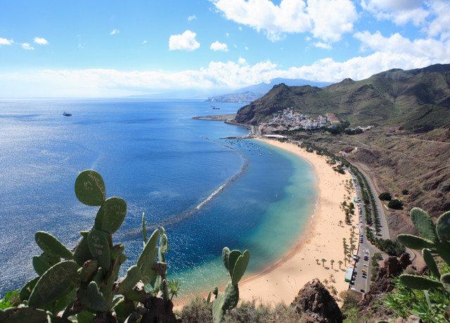 sky Coast mountain Sea Nature shore Beach Ocean cliff cape cove terrain