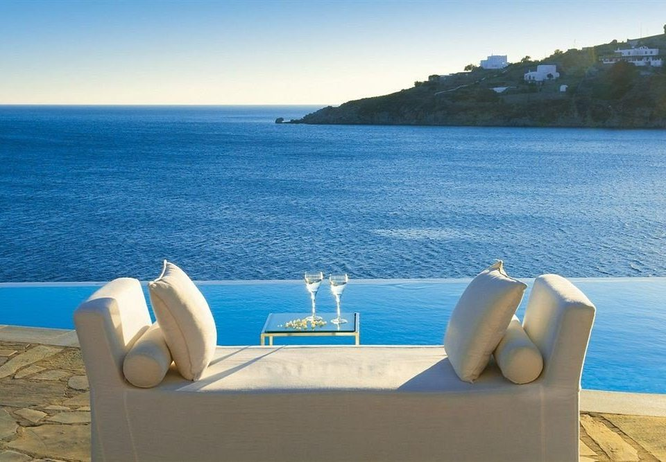 water sky Sea swimming pool Ocean blue Beach Nature Coast caribbean shore overlooking